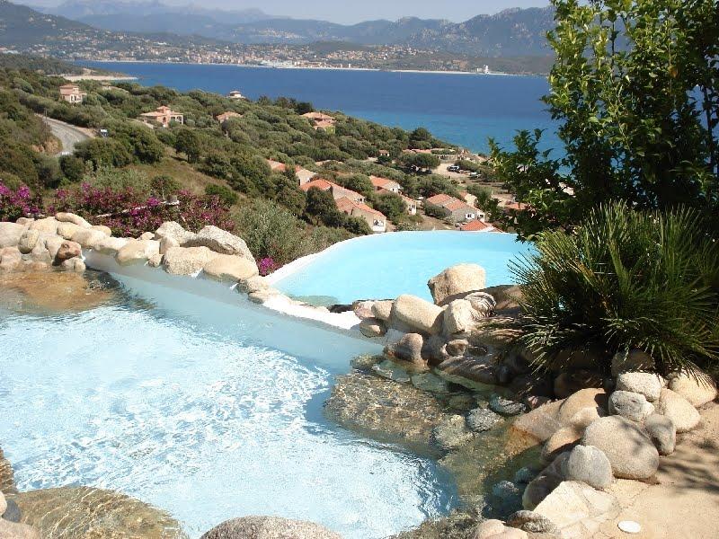 Maison louer en corse location maison villa 6 pices - Location villa calvi avec piscine ...