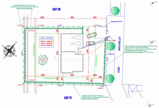 Plan de masse maison individuelle - Plan de masse et plan de situation ...