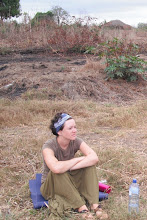 Sitting sick in the African bush