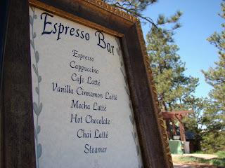 Wedding+Espresso+Bar Beautiful Colorado Mountain Wedding