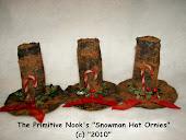 Snowman Hat Ornies Pattern (C) 2010