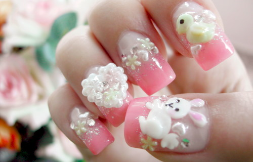 The Charming Cute nail designs for short nails necklace Picture