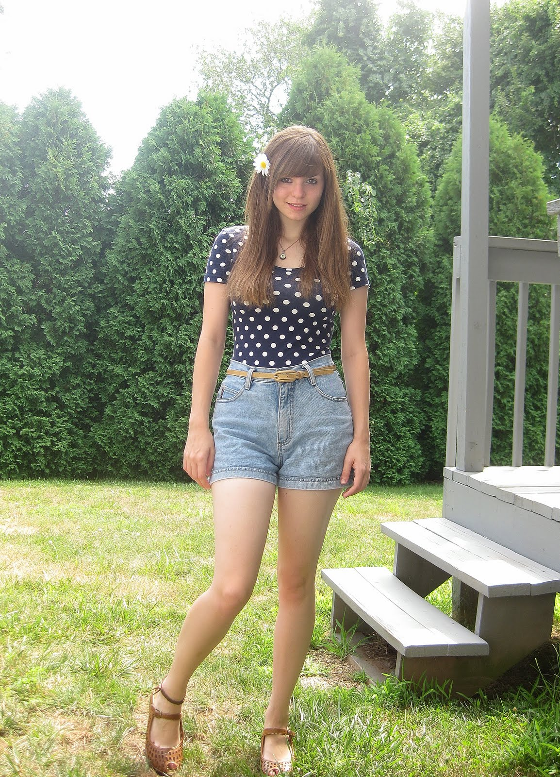 Summer Outfits With High Waisted Shorts