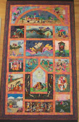 I Made This 103 X 60 Quilt In 2000 Specifically For The International Fine Arts Competition Church Museum Of And History