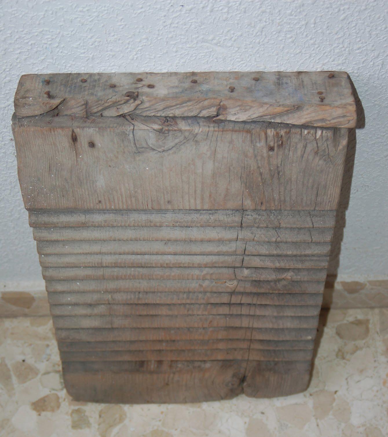El blog de ma tablas de lavar antiguas hechas de madera for Cosas hechas de madera