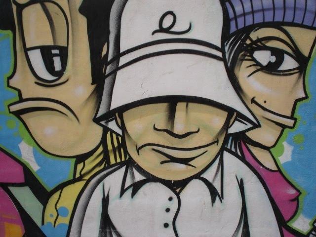 Arte en las calles de Granada Grafitis (9ª parte)