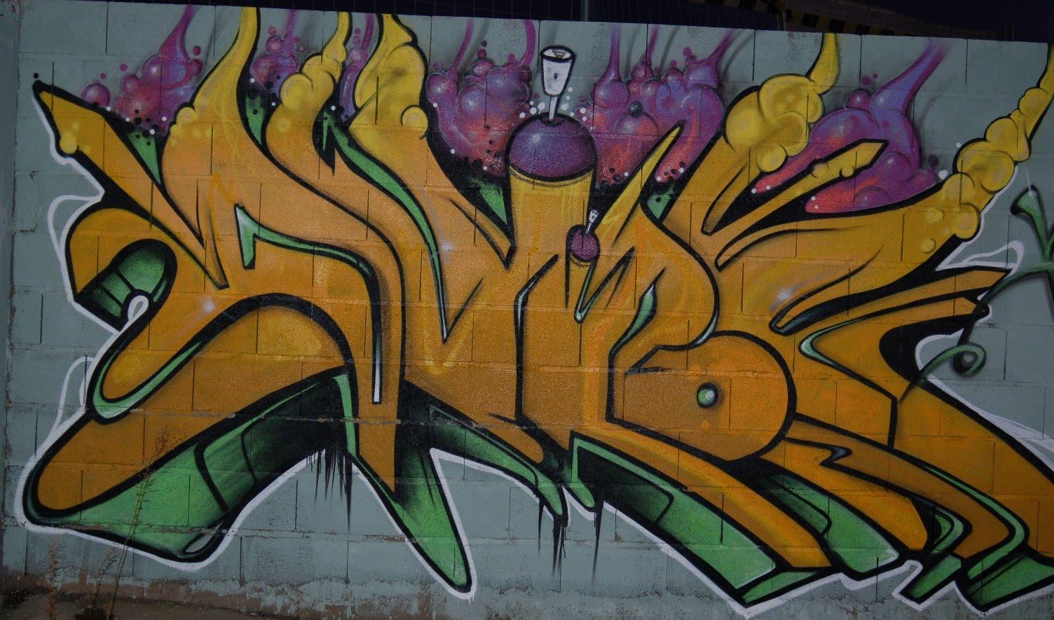 el blog de ma m s graffitis de granada arte urbano primera parte