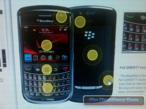 Verizon Customer Service Reps Get Training Material on BlackBerry Bold 9650