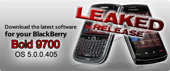 BlackBerry Bold 9700 OS 5.0.0.405 Leaked!
