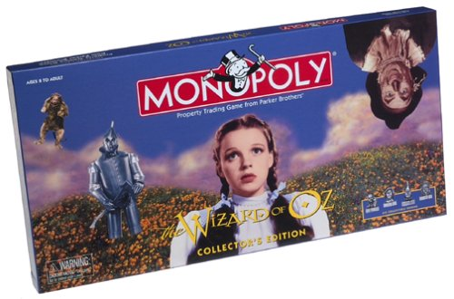 wizard of oz monopoly game uk