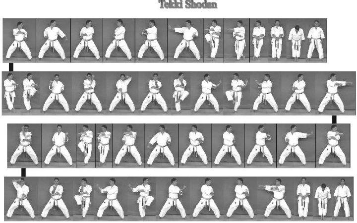 karate do kata tekki kuda besi