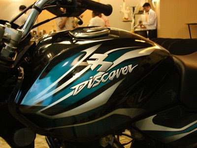 Bajaj Discover 100cc bike, 2009
