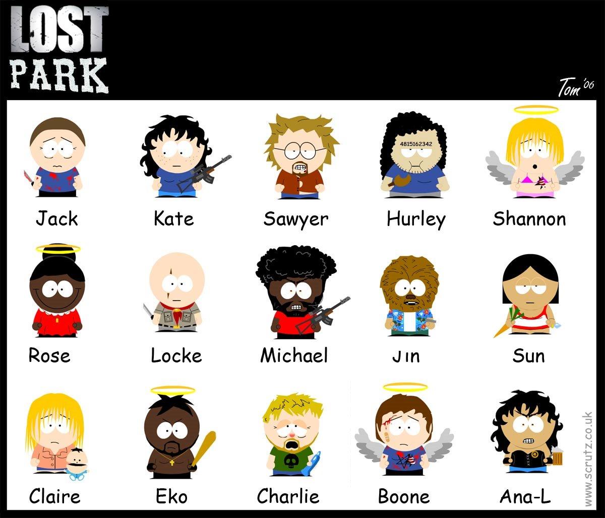 lost personajes