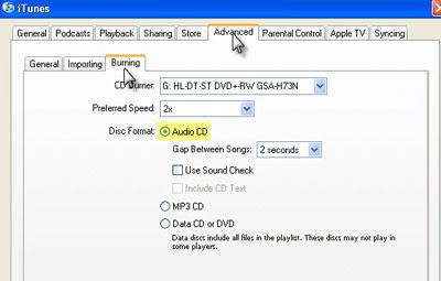 Convert iTunes to PSP