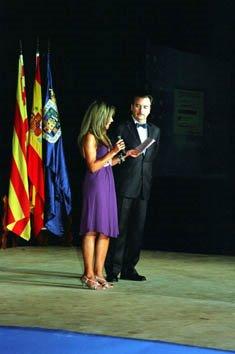 """""""Recordando a Raquel Meller 2007""""  Palacio de Eguaras en Tarazona. Rafa Castillejo y María Dolores"""