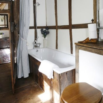 Ba os r sticos algunos apuntes somosdeco blog de for Bathroom designs for small spaces uk