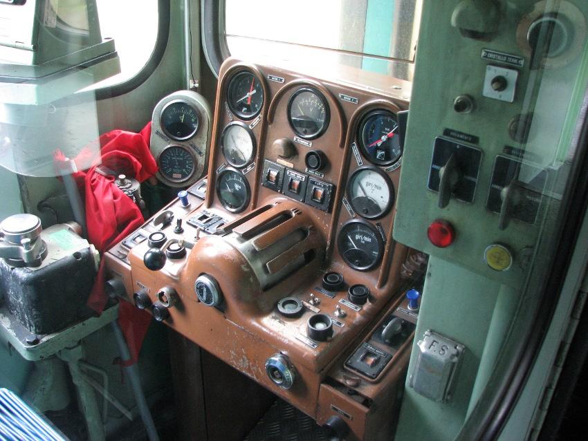Foto di fiesole la cabina di controllo del treno sulla for Costruttori di cabina del minnesota