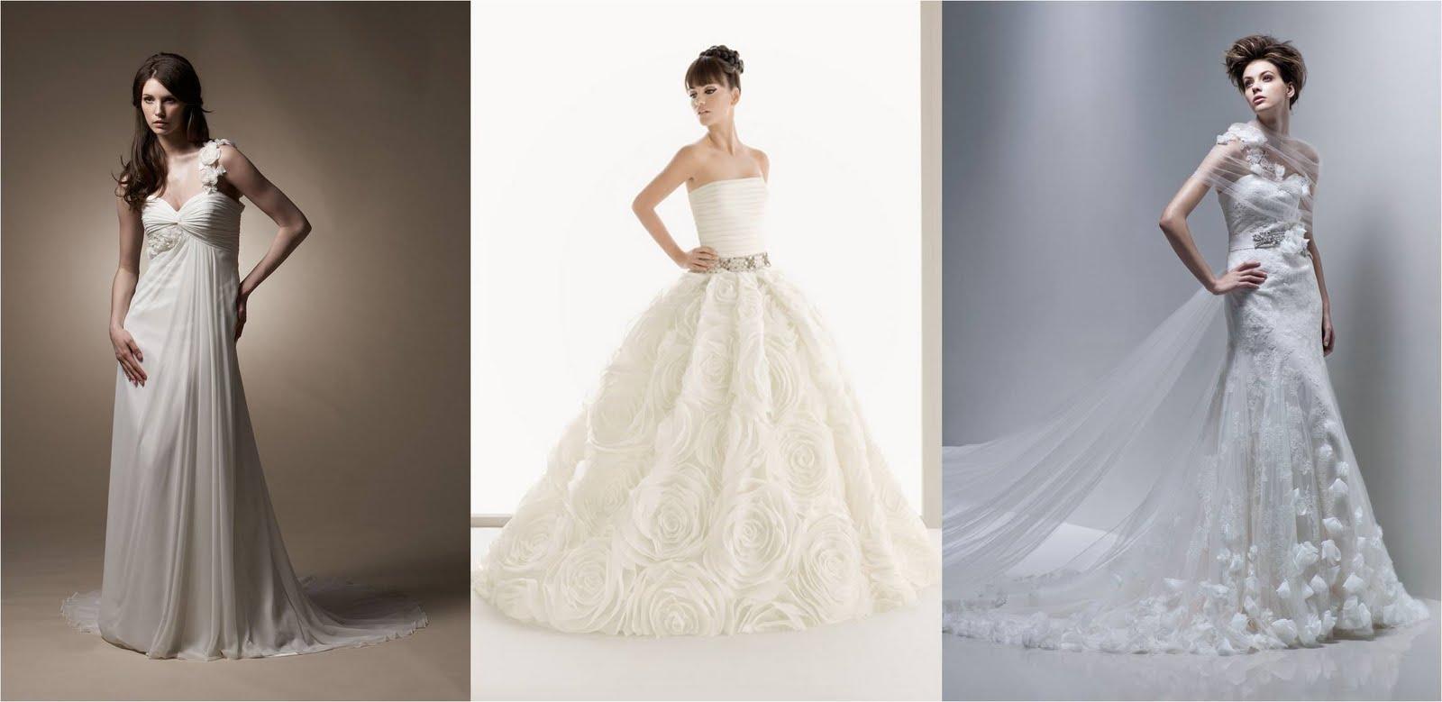 Kleider von tia bridal aire barcelona und enzoani