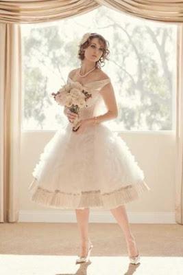 Vestido novia shabby chic