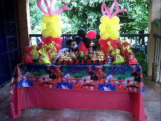 Mickey mouse y minnie bebes tattoo for Decoracion fiesta cumpleanos adultos