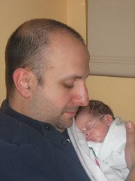 Dad Holding Gabriel