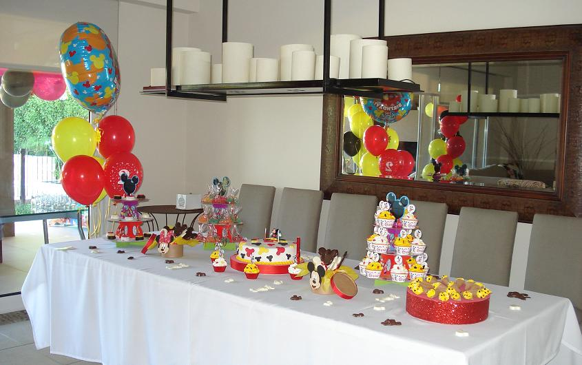 Cumple tematico Mickey Mouse