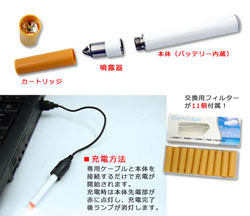 Electronic Cigarette of USB