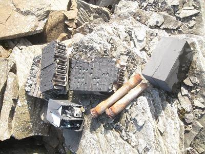 Skaftegranater og batterier