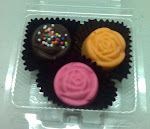 3pcs PRALINES (in sushi pack)