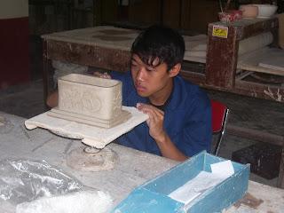Studio Keramik PPPPTK Seni dan Budaya February 2008