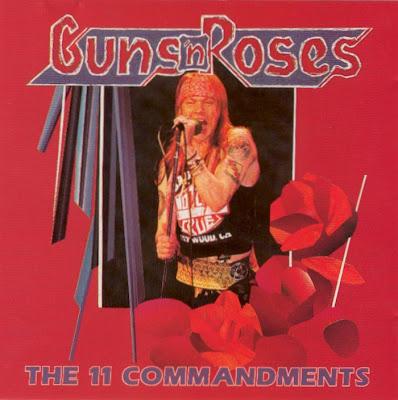 Rocking Maniacs Guns N Roses The 11 Commandments Live Madison Square Garden 1992