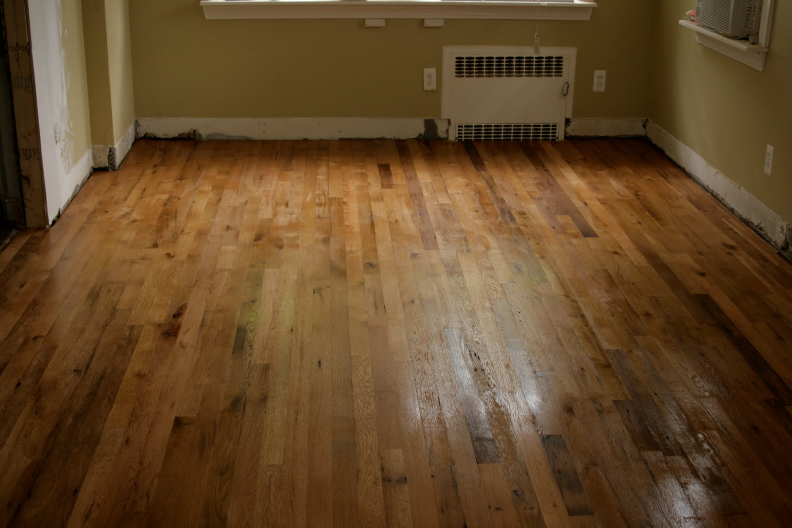 Bluebonnet in Beantown: DIY reclaimed white oak floors
