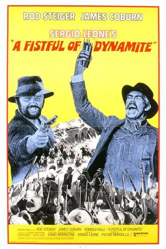 A fistful of dynamite James Coburn movie poster #1