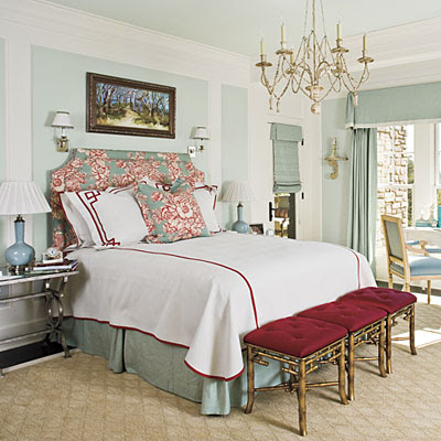 Master Bedroom Color on Bedroom Below Pairs The Color Combination With