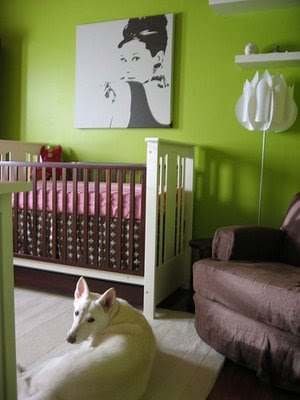 nursery notations pink and green bedrooms. Black Bedroom Furniture Sets. Home Design Ideas