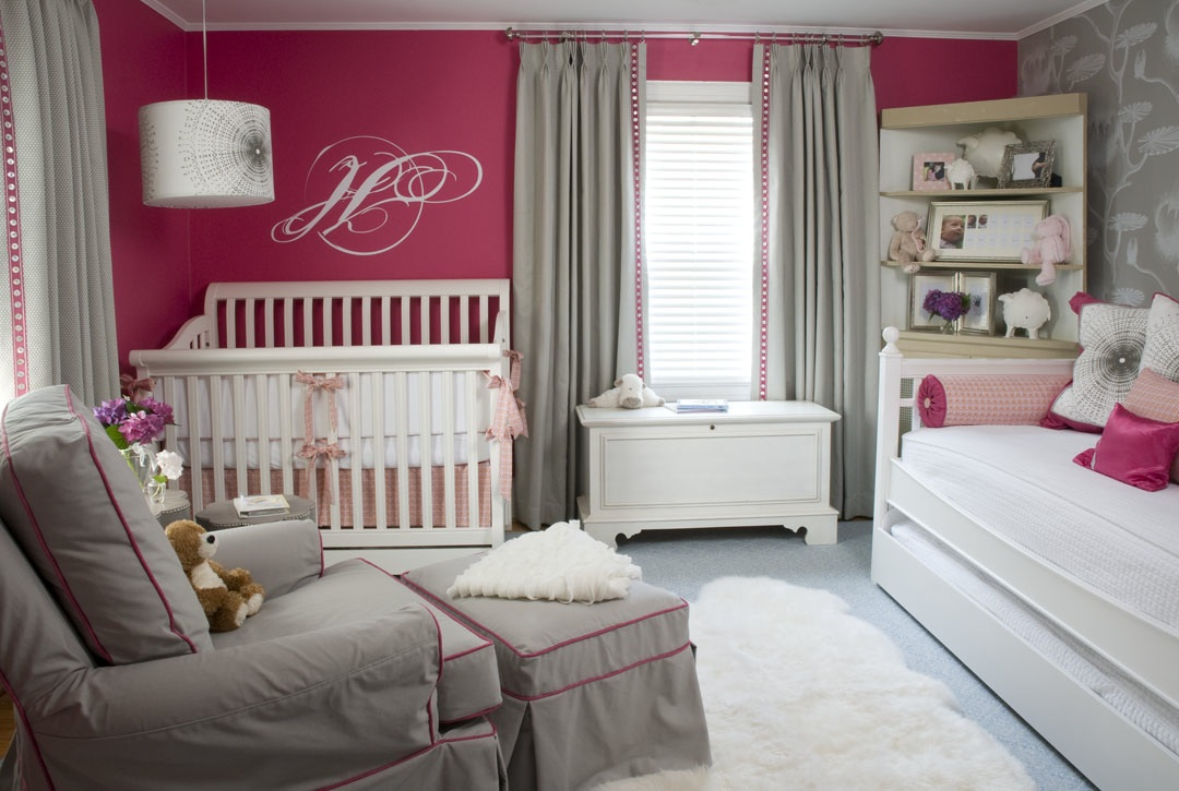Nursery notations harris 39 s nursery by liz carroll for Colors for a girls room