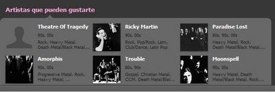 Ricky Martin y el gothic metal