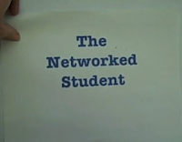 Screen shot of The Networked Student video
