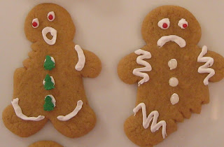 Gourmet Mom On The Go Funny Gingerbread Men