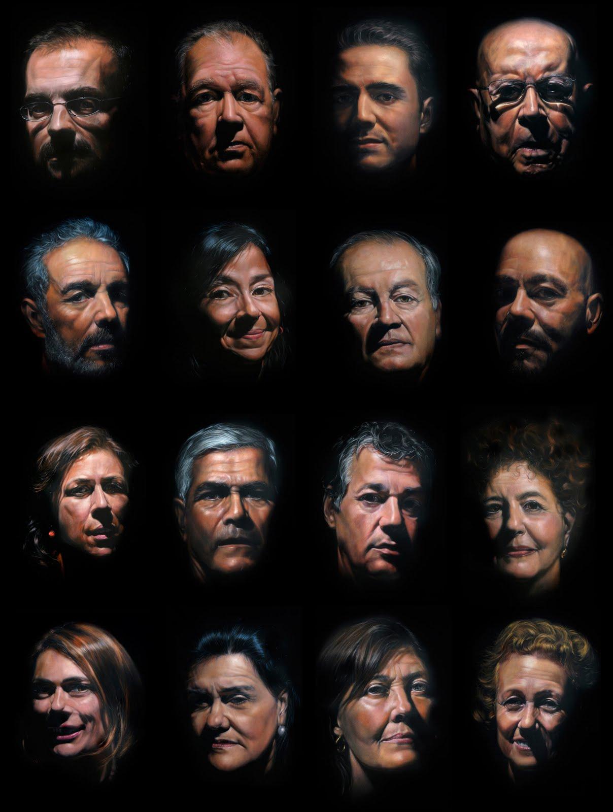Retratos de Salazar, en la Universidad de Las Palmas