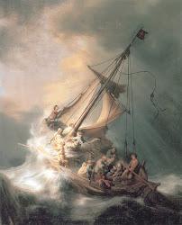 Cristo na Tempestade no Mar da Galiléia