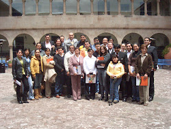 Hoteliers from Cuzco.Peru. 2009