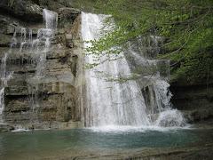 Alle cascate dell'Acquacheta