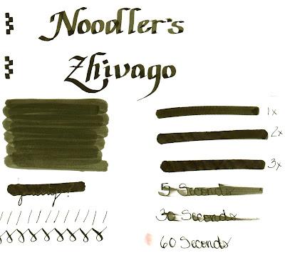 The Harmless Dilettante Noodler S Zhivago