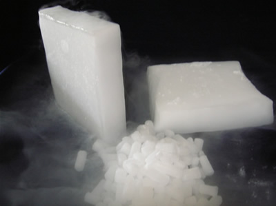 how to use dry ice to keep food frozen