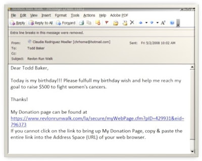 Image of Sample Email