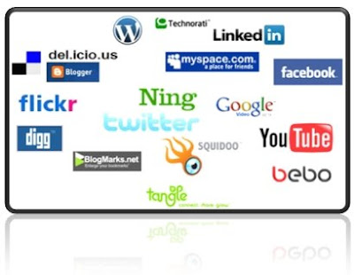 Social Networking Web site Logos