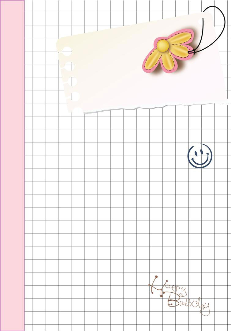 Girls Diary Pages Printable
