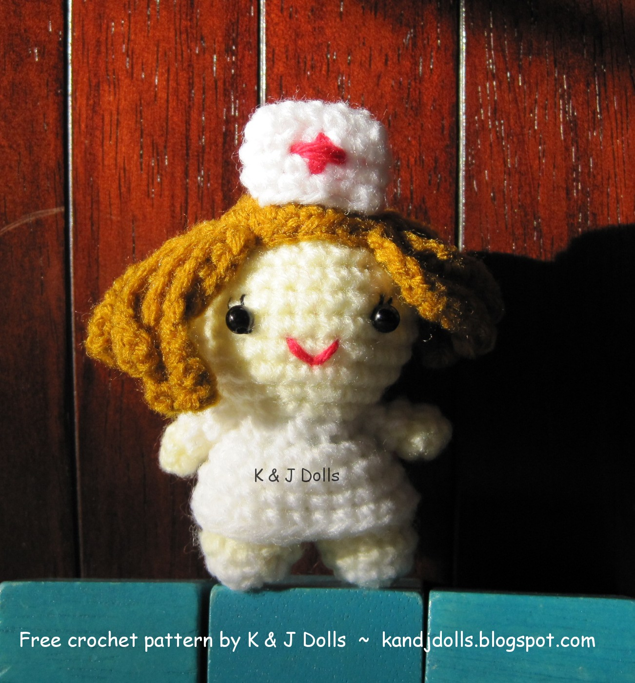 Amigurumi Nurse Pattern : Little Nurse ~ Free Amigurumi crochet pattern - Sayjai ...