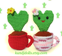 Free amigurumi valentine pattern
